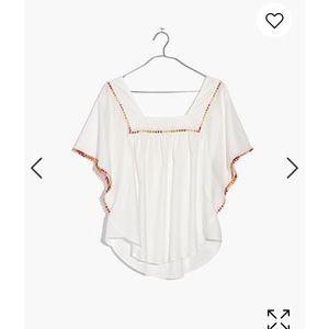 Madewell butterfly top